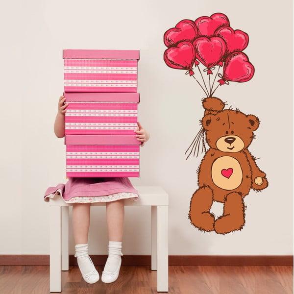 Samolepka na stenu Teddy