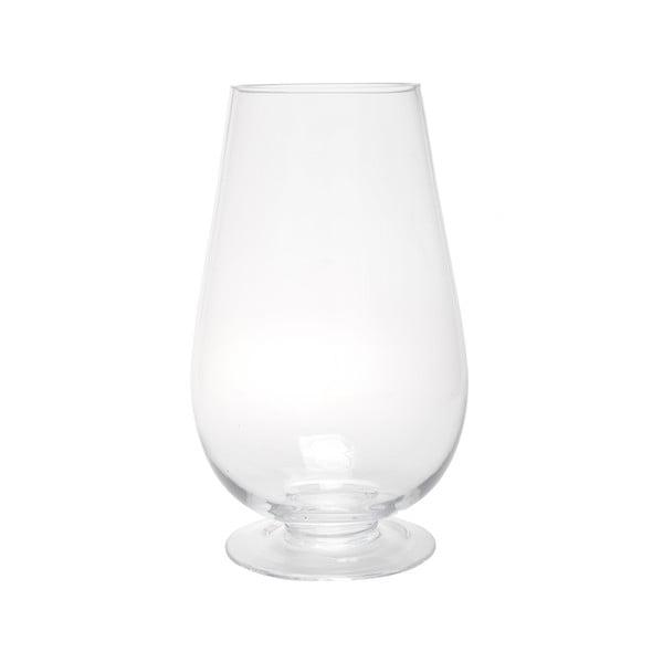 Sklenená lucerna Hurricane Egg, 38 cm