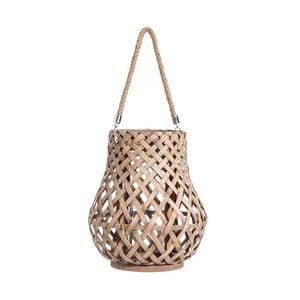 Bambusový svietnik na zavesenie Tropicho, ⌀28cm