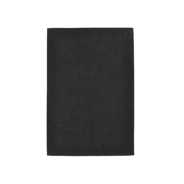 Kúpeľňová predložka Esprit Solid 60x90 cm, čierna
