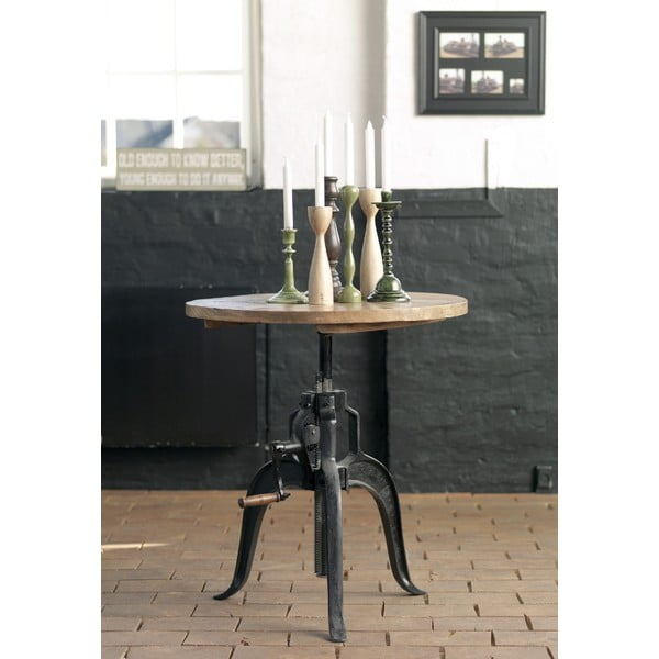 Odkladací stolík Factory, 75 cm