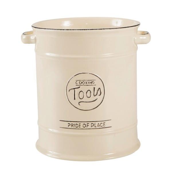 Krémová keramická dóza na kuchynské náradie T&G Woodware Pride of Place