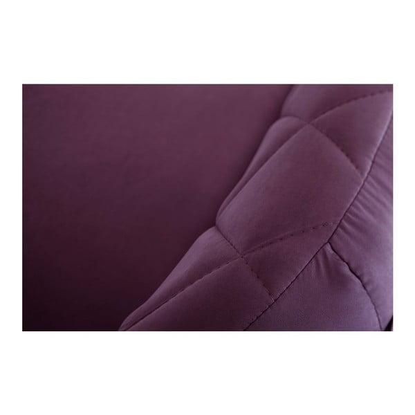 Pohovka pre troch Diva Criss Cross Purple