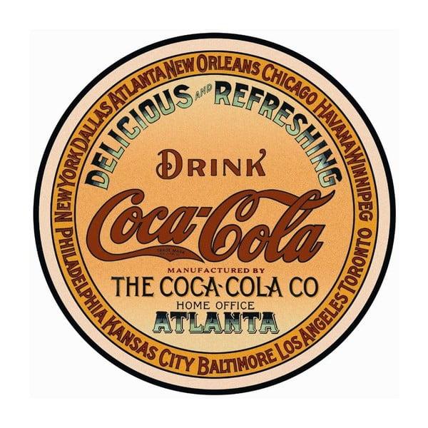 Plechová ceduľa Drink Coca Cola, 30x40 cm