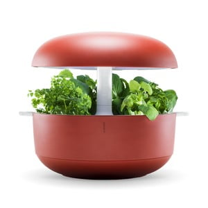 Domáca inteligentná červená záhradka Plantui 6 Smart Garden Red