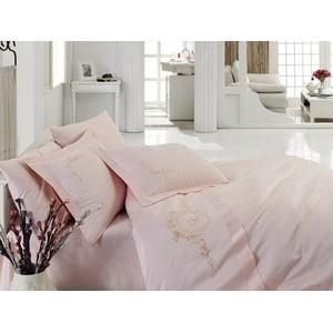 Obliečky s plachtou Feeling Pink, 200x220 cm