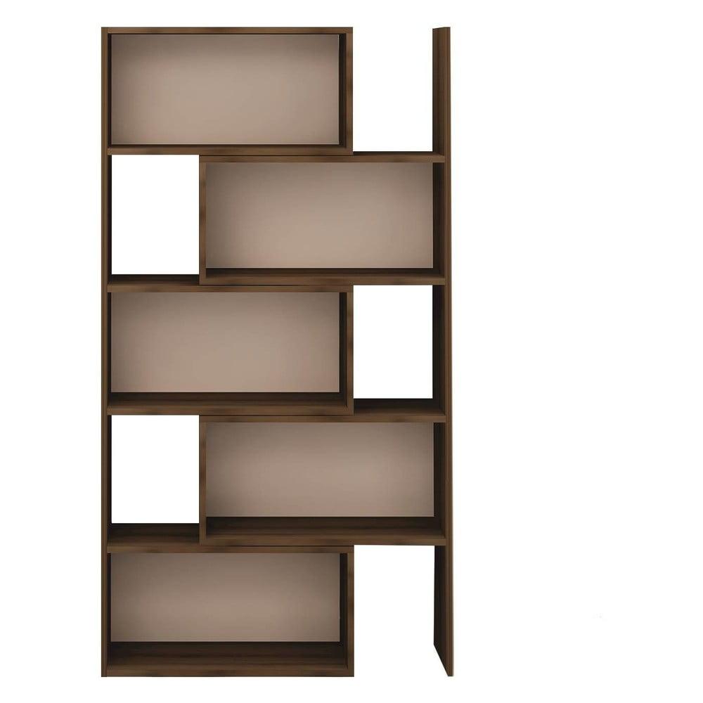 Knižnica z drevotriesky Multi, výška 181 cm