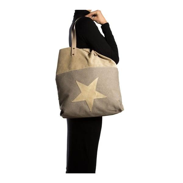 Nákupná taška Isabella Rhea 8020, béžová