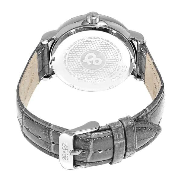 Pánske hodinky Madison Leather Black