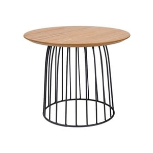 Odkladací stolík s oceľovou konštrukciou Signal Dafne, ⌀50cm