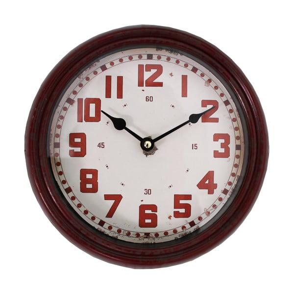 Nástenné hodiny Pendule, červené