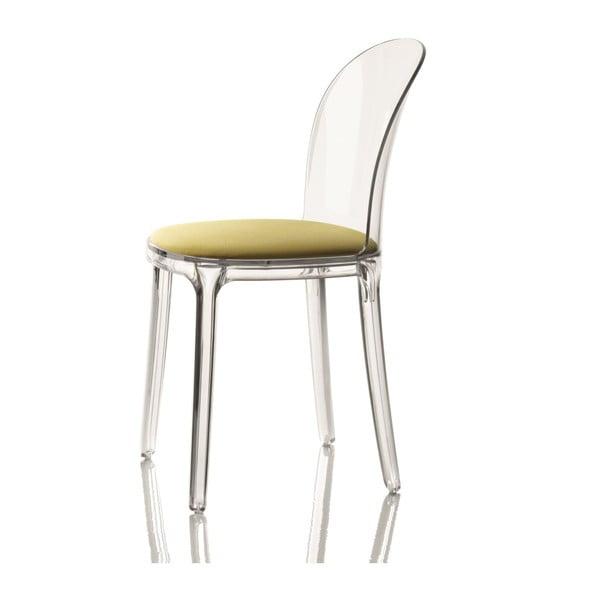 Stolička so zeleným sedákom Magis Vanity