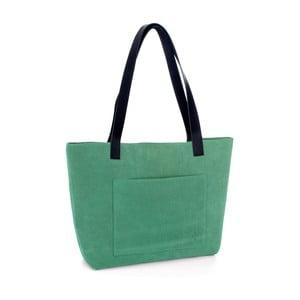 Zelená kožená kabelka Woox Rostellum