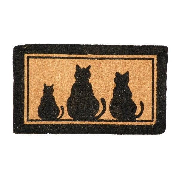 Rohožka Three Cats, 75x45 cm