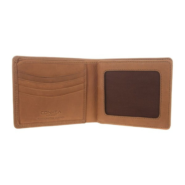 Kožená peňaženka Benedict Natural Chestnut