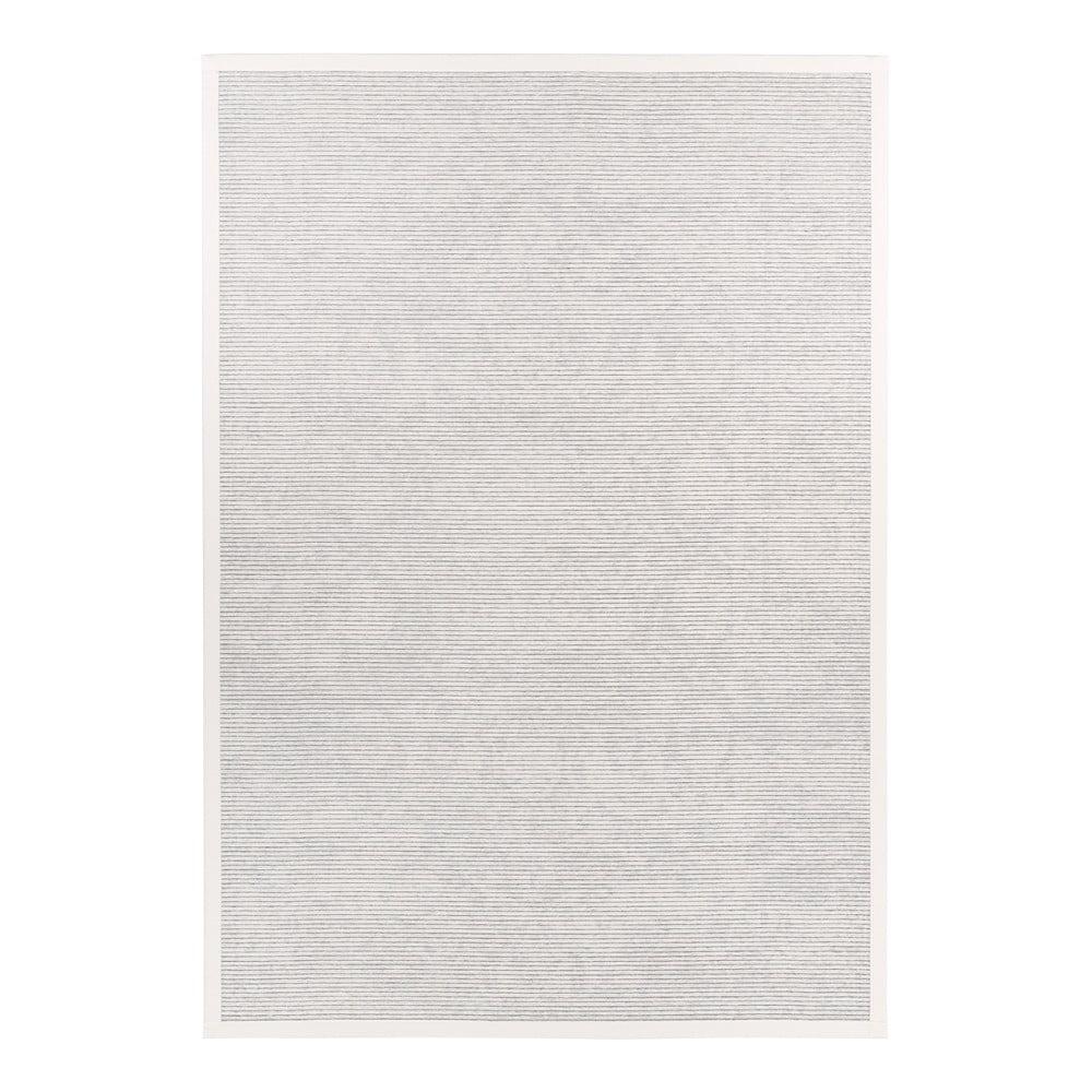 Biely obojstranný koberec Narma Palmse White, 200 x 300 cm