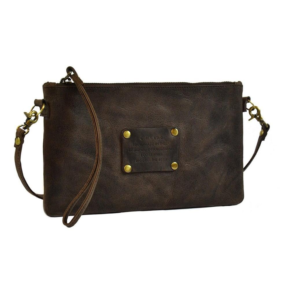 102f30970b Tmavohnedá kožená kabelka O My Bag The Betsy