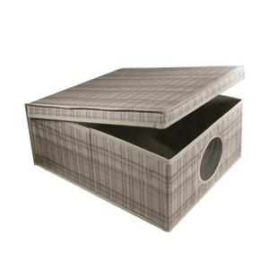 Úložný box Tartan, 50x40x25 cm