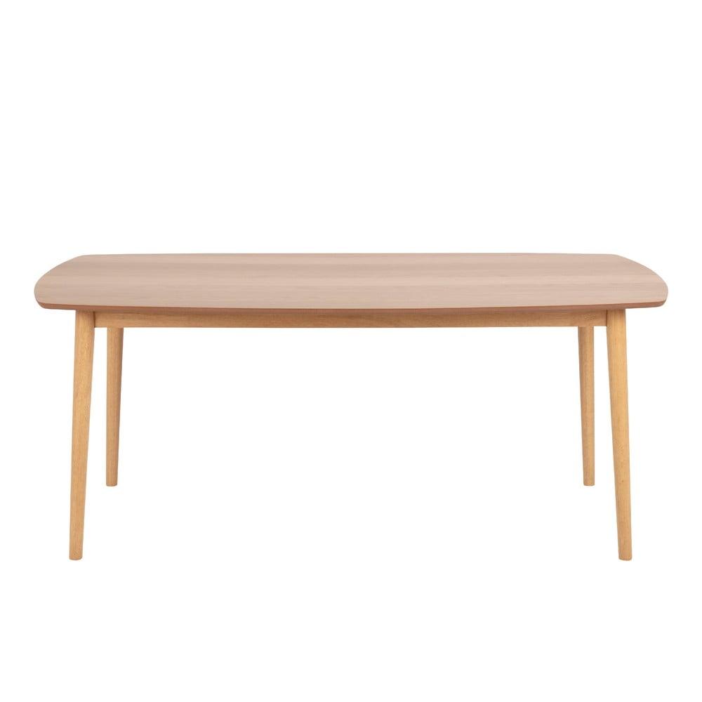 Hnedý jedálenský stôl Actona Hastings, 180 x 90 cm