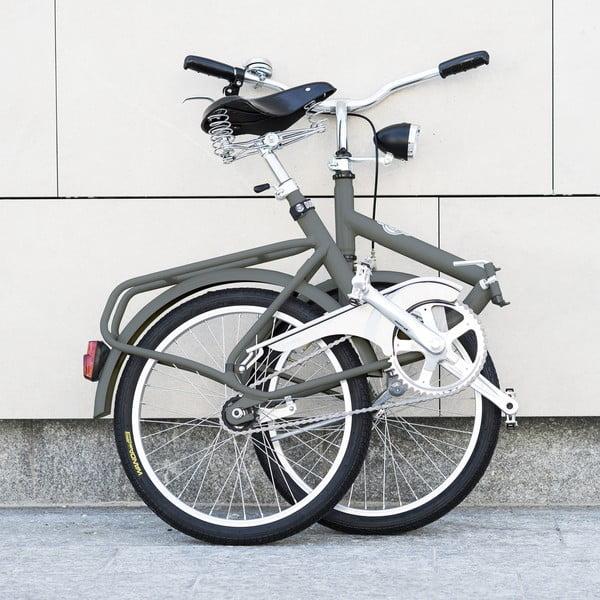 Skladací bicykel Dude Bike Top, šedý
