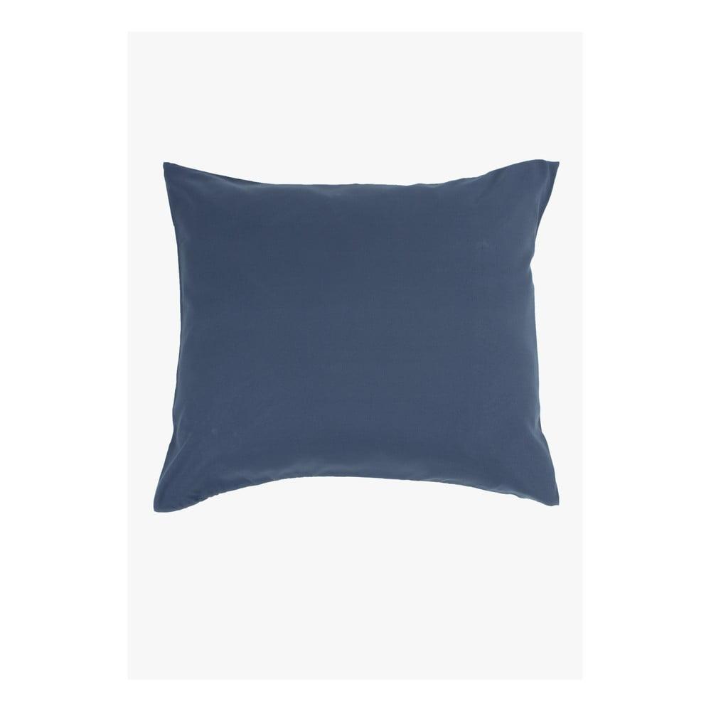 Modrá obliečka na vankúš z mikrovlákna Ambianzz, 70 x 60 cm