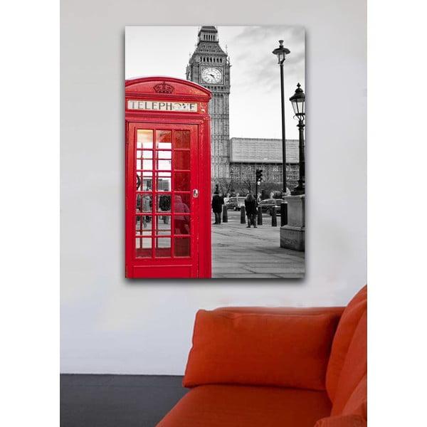 Obraz V Londýne , 45x70 cm