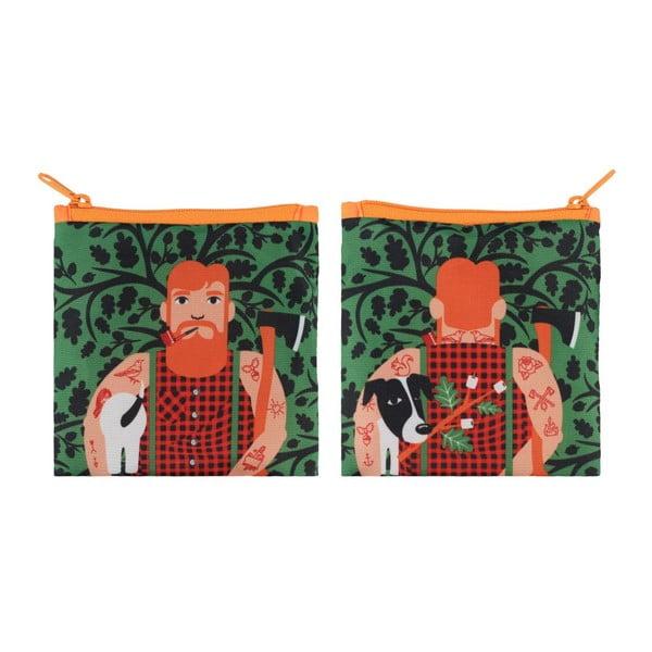 Skladacia nákupná taška Lumber Jack by Cristina Caramida