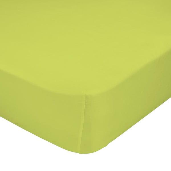 Zelené elastické prestieradlo Happynois, 60x120 cm