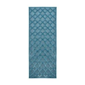 Modrý behúň Mint Rugs Shine Mero, 80 × 250 cm