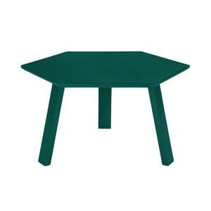 Konferenčný stolík Hexagon Green, 47x37x47 cm