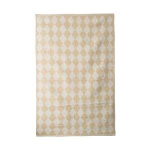 Bavlnený ručne tkaný koberec Pipsa Curry Diamond, 140×200 cm
