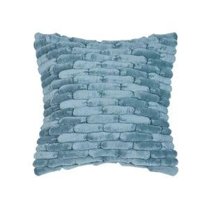 Modrý vankúš ZicZac  Cobble Stone, 45x45cm
