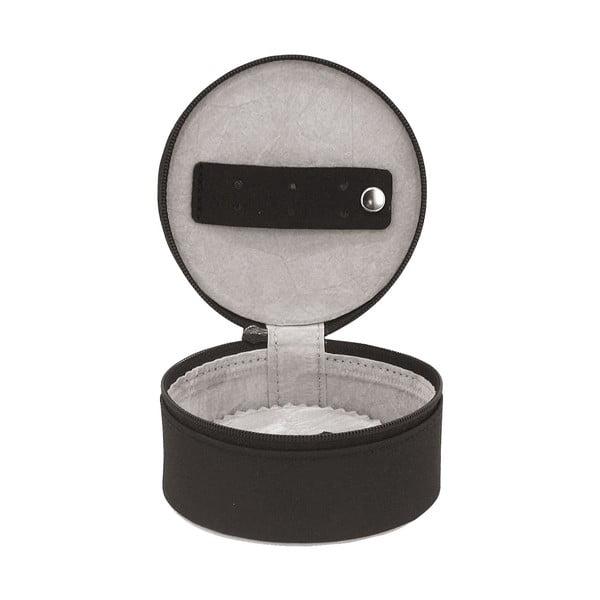Šperkovnica Elegance Black, 10x10x5 cm