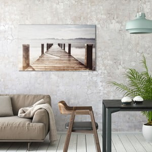 Obraz na plátne OrangeWallz Lake, 70 x 118 cm