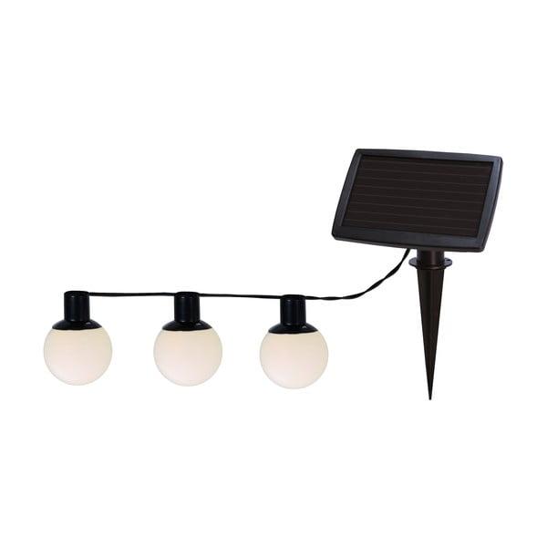 Solárna svetelná LED reťaz Best Season Balls Combo, 6svetielok