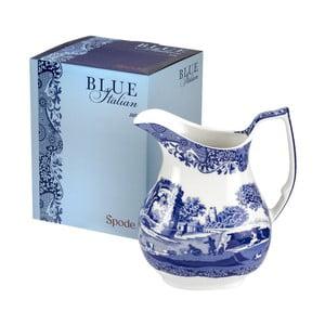 Bielo-modrý porcelánový džbánik Spode Blue Italian, 850 ml