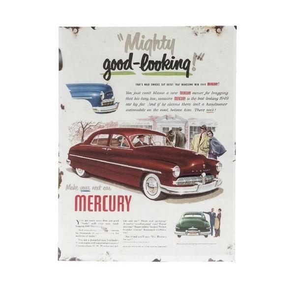 Nástenná ceduľa Novita Mercury Porte, 30 x 40 cm