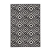 Čierno-biely koberec Hanse Home Art, 70×140cm