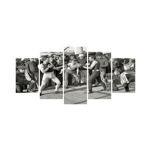 Viacdielny obraz Black&White no. 88, 100x50 cm