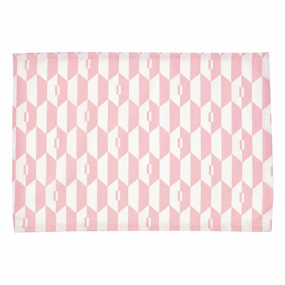 Ružové bavlnené prestieranie Green Gate Aurelie, 40 × 50 cm