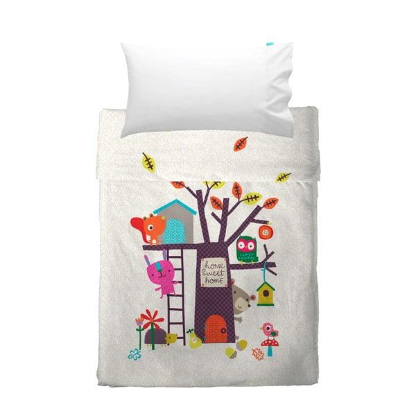 Detská prikrývka a obliečka na vankúš Baleno Sweet Home, 100 x 130 cm