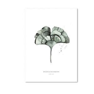 Plagát Leo La Douce Ginko Leaf, 29,7 x 42cm