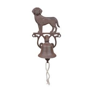Liatinový zvonček s motívom psa Ego Dekor