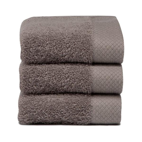 Set 3 uterákov Pure Cement, 30x50cm
