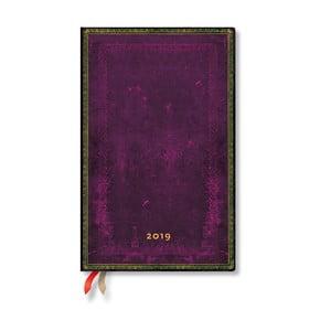 Diár na rok 2019 Paperblanks Cordovan, 13,5 x 21 cm
