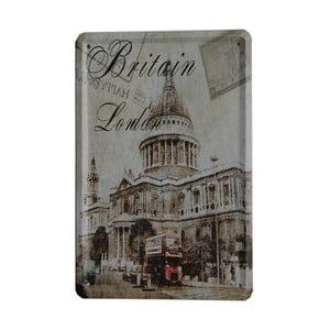 Ceduľa Britain London, 15x21 cm