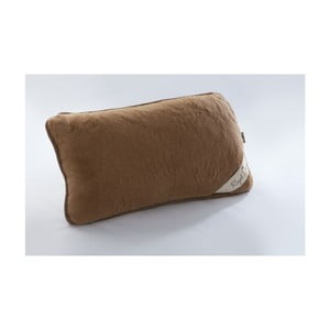 Vlnený hnedý vankúš Royal Dream Cami Brown, 40×70cm