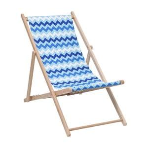 Modré ležadlo Kare Design Summer