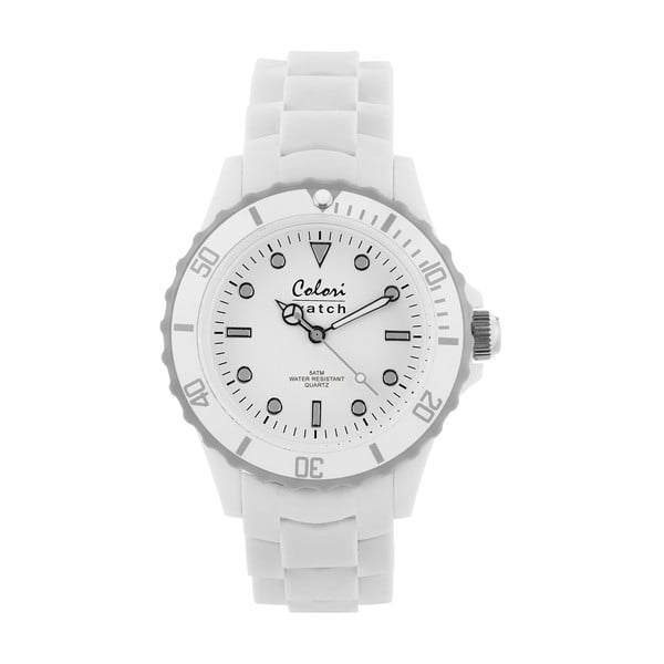 Hodinky Colori 40 White/Grey