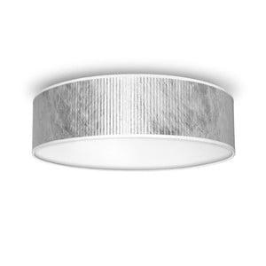 Stropné svetlo v striebornej farbe Bulb Attack Tres, Ø 40 cm